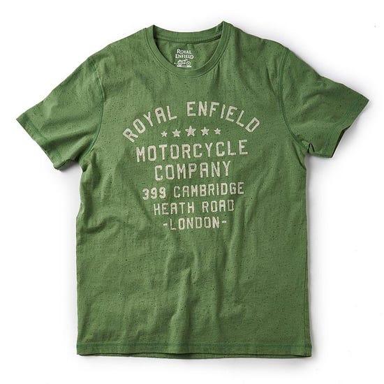 Destination London T-Shirt Drab Green