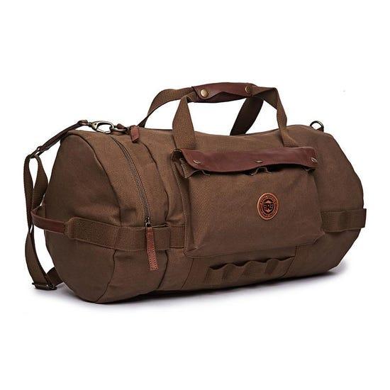 Flying Flea Duffel Bag Khaki Brown