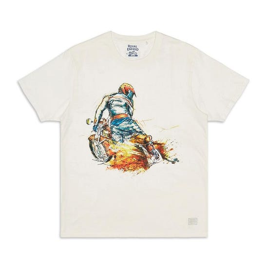 Got Roost Masterpiece T-Shirt Off White
