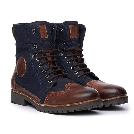 HUNTSMAN BOOTS BLUE BROWN
