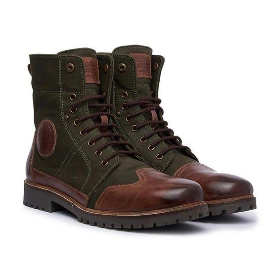 Huntsman Boots Green Brown