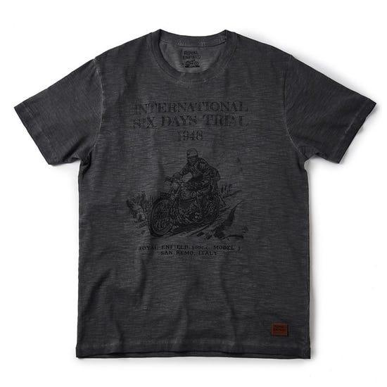 Isdt Model J T-Shirt Grey