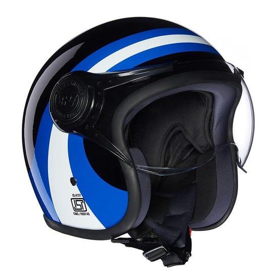 Remc Road Helmet Black Blue