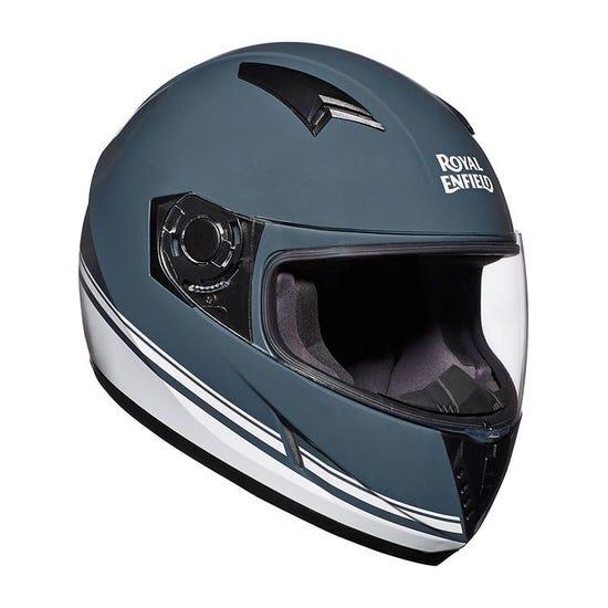Street Pin Stripe Helmet Grey