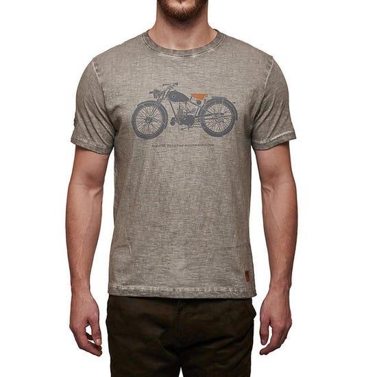 Flying Flea T-Shirt Light Grey