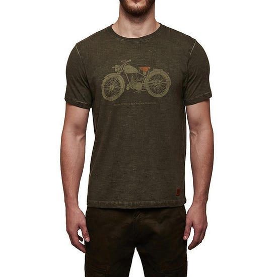 Flying Flea T-Shirt Olive