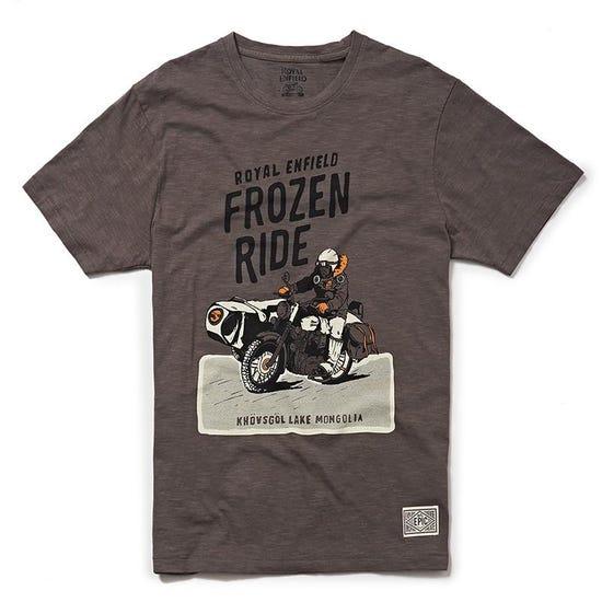 Frozen Ride T-Shirt Charcoal Grey