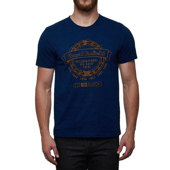 International Six Day Trial T-Shirt Indigo Blue