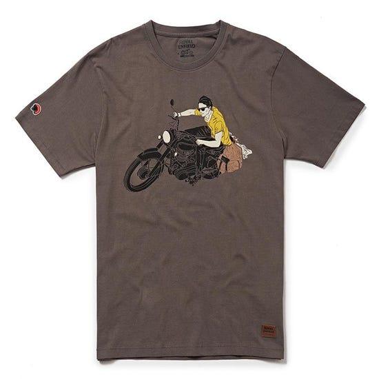 Lean T-Shirt- Charcoal Grey