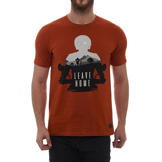 Leave Home T-Shirt Sunset Orange