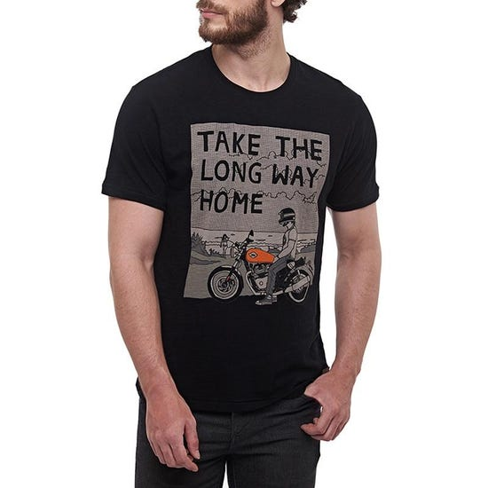 Long Way Home T-Shirt - Black