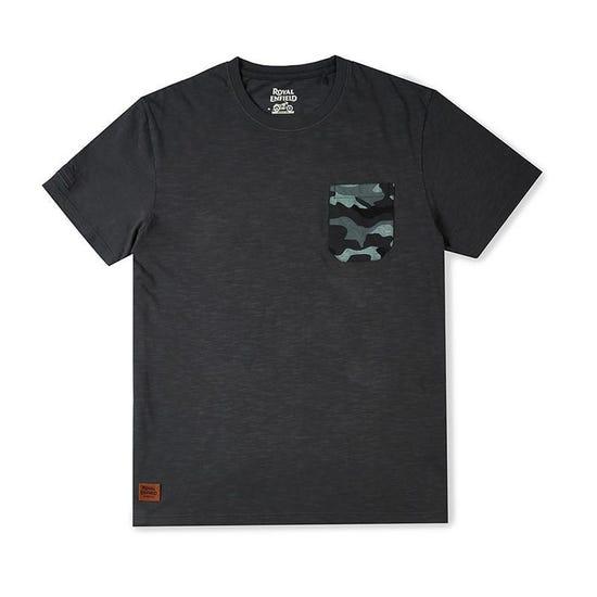 Mlg Camo Pocket T-Shirt Charcoal Grey