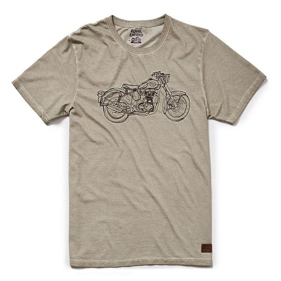 Non Stop Classic T-Shirt -  Beige Brown