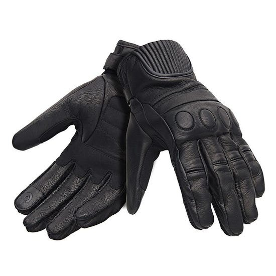 Rocker Gloves Vintage Black