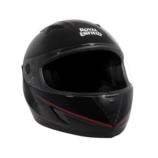 Street Mono Stripe Helmet Gloss Black