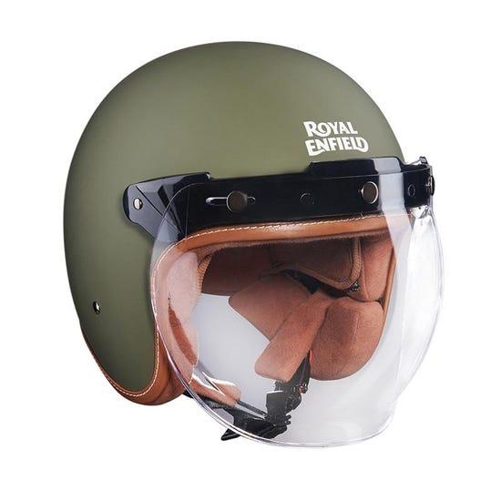 Bobber Helmet Matt Battle Green