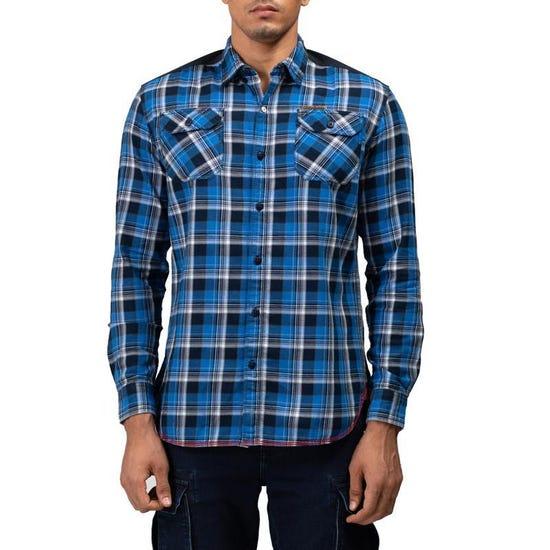 Hill Top Shirt Mid Blue