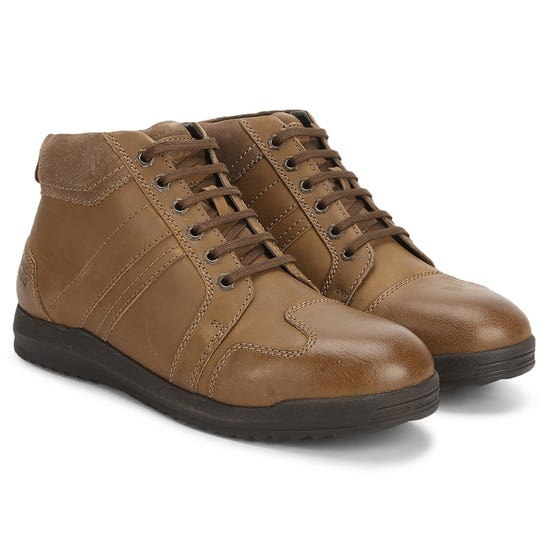 RECCE SNEAKERS-BROWN