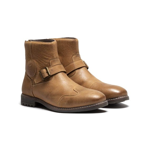 Combat Boots Tan