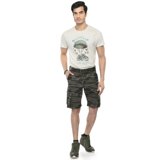 summer shorts olive camo