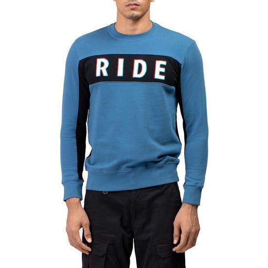 Classico Sweatshirt Mid Blue