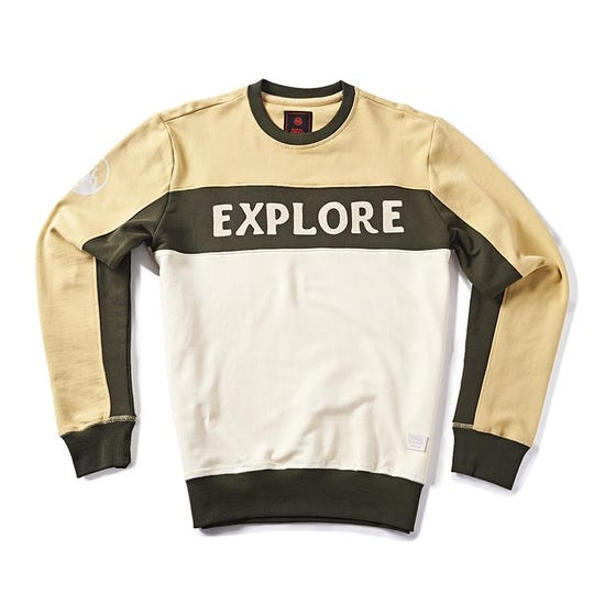 Soul Explorer Sweatshirt Khakhi