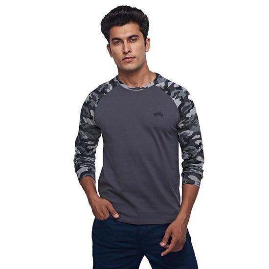 Camo Full T-Shirt Charcoal