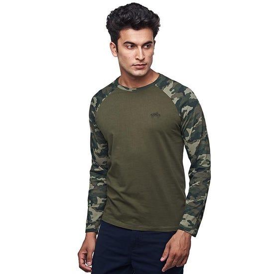 Camo Full T-Shirt Olive