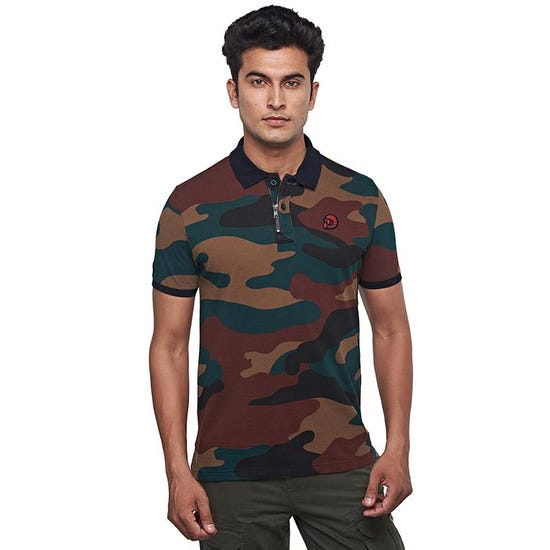 Camo 50 Polo 3.0 Brown