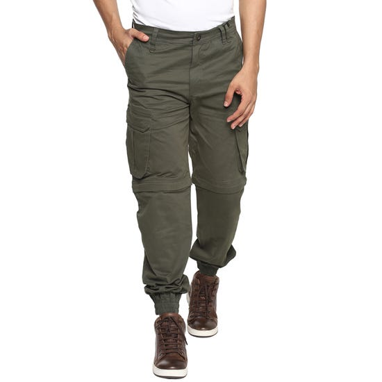 RIDE MORE JOGGERS-OLIVE