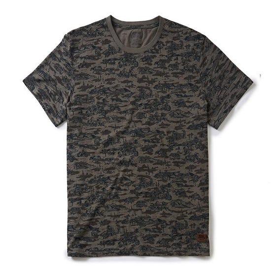 Sidecar Camo T-Shirt  Camo Charcoal