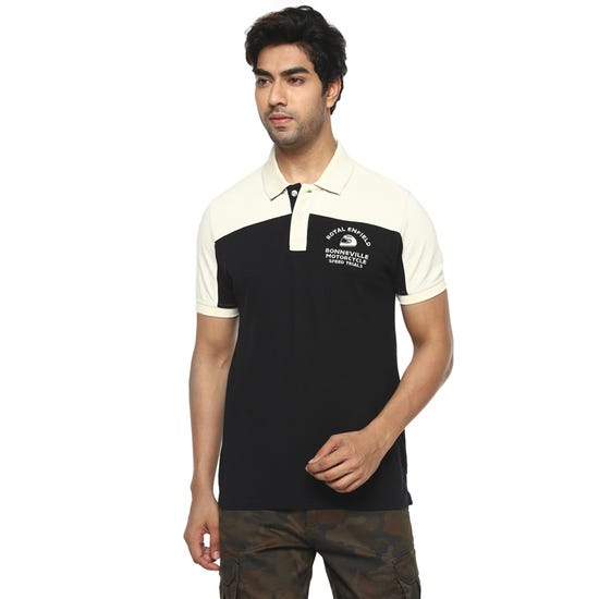 Bonneville Trials Polo-Black