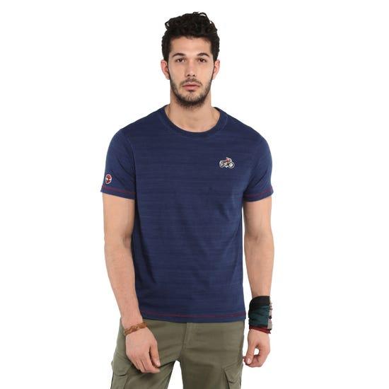 Solid Indigo T-Shirt-Indigo