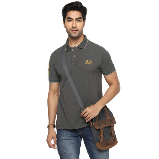 The One Polo-Charcoal