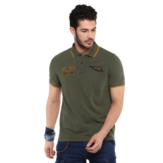 The Insignia Polo-Olive