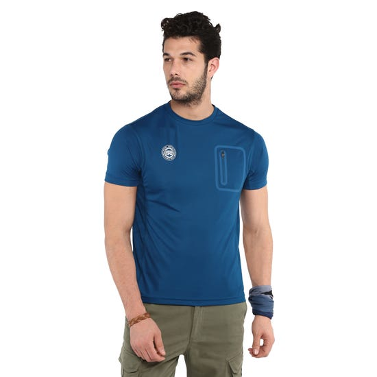 RIDE SEAMLESS T-SHIRT-DEEP TEAL