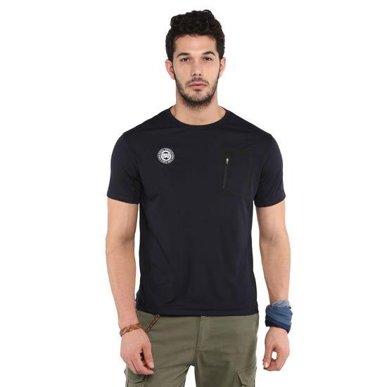 RIDE SEAMLESS T-SHIRT-BLACK