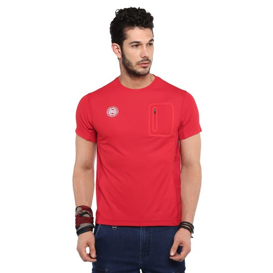 RIDE SEAMLESS T-SHIRT-RED