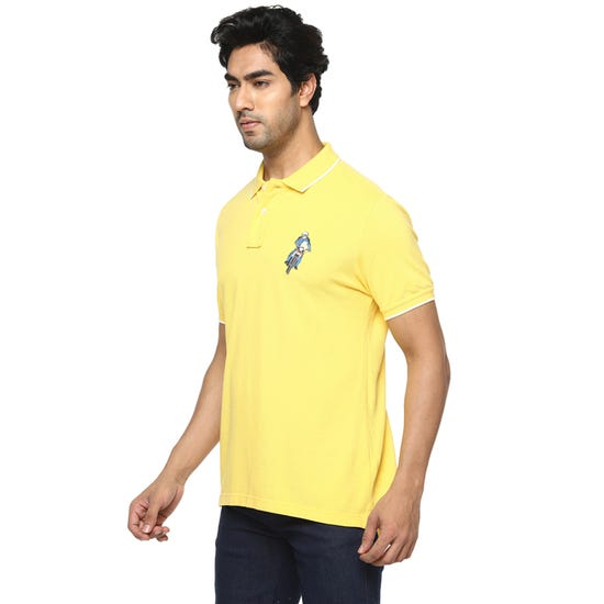 HONOUR THE BADGE POLO MIMOSA YELLOW