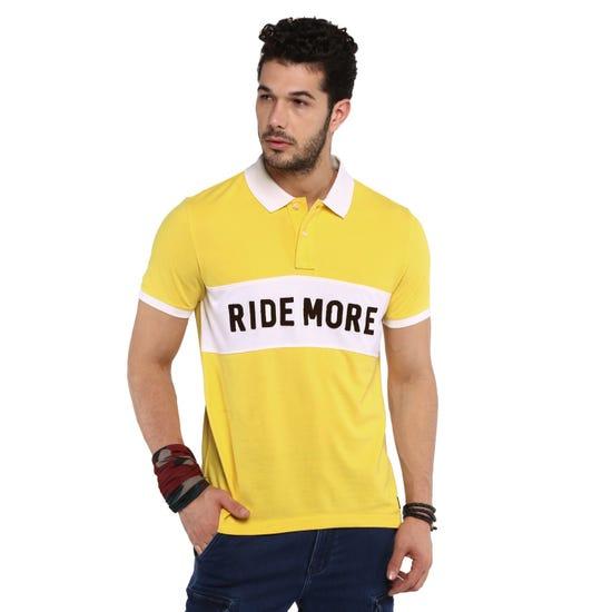 Ride More Polo -Mimosa Yellow