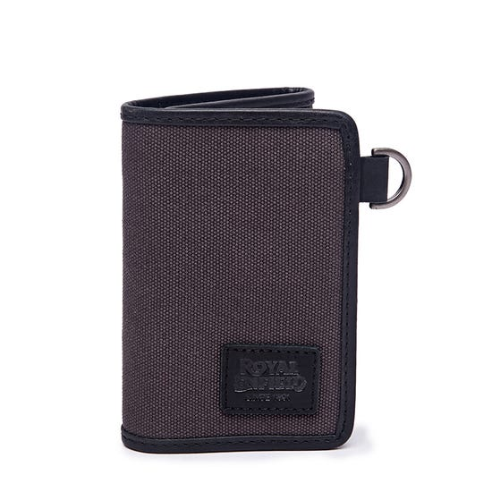 TRIFOLD CLASSICO WALLET CHARCOAL BLACK